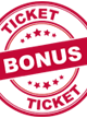TicketBonus - upp till 3 % bonus på all dina resor!